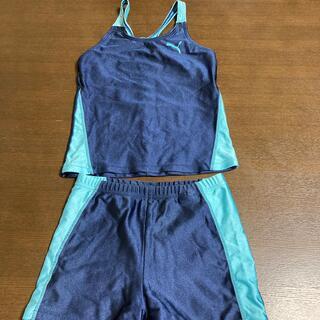 プーマ(PUMA)のPUMA  セパレート 水着 ネイビー/ブルー(水着)