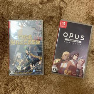 ニンテンドースイッチ(Nintendo Switch)の(新品) GIGA WRECKER ALT. + OPUS Collection(家庭用ゲームソフト)