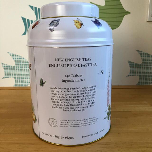 コストコ(コストコ)のコストコ イングリッシュティー 240個 ピーターラビット缶入 食品/飲料/酒の飲料(茶)の商品写真
