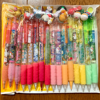 ハローキティ - ご当地キティちゃん シャーペン ボールペン 16本セット【まとめ売り】