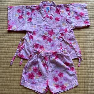 ミキハウス(mikihouse)のミキハウス 甚平 サイズ80(甚平/浴衣)