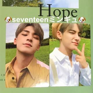 セブンティーン(SEVENTEEN)のミンギュ An Ode Hope ベレー帽トレカ seventeen セブチ(K-POP/アジア)