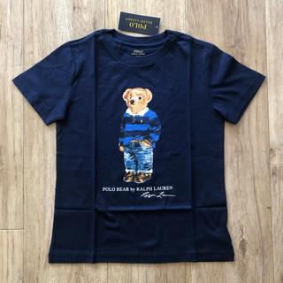 ラルフローレン(Ralph Lauren)のまとめ割適応★2枚 ラルフローレン キッズ ネイビー Tシャツ 100 子供服(Tシャツ/カットソー)