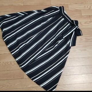 オリーブデオリーブ(OLIVEdesOLIVE)のOLIVE  de  OLIVE   スカート巻きスカート  ネイビー(ひざ丈スカート)