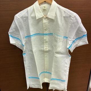Ron Herman - 美品!ロンハーマン 半袖シャツ 麻100% Lサイズ