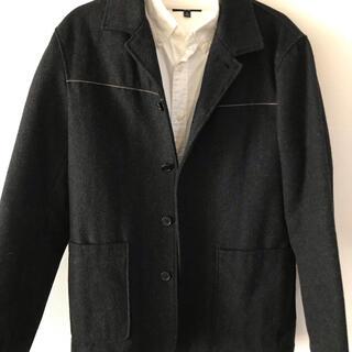 ミッシェルクラン(MICHEL KLEIN)のミッシェルクラン コート UNIQLOワイシャツコーデセット(ピーコート)