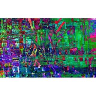 CG抽象画1225 テレワーク スマホ 抽象画(アート/写真)