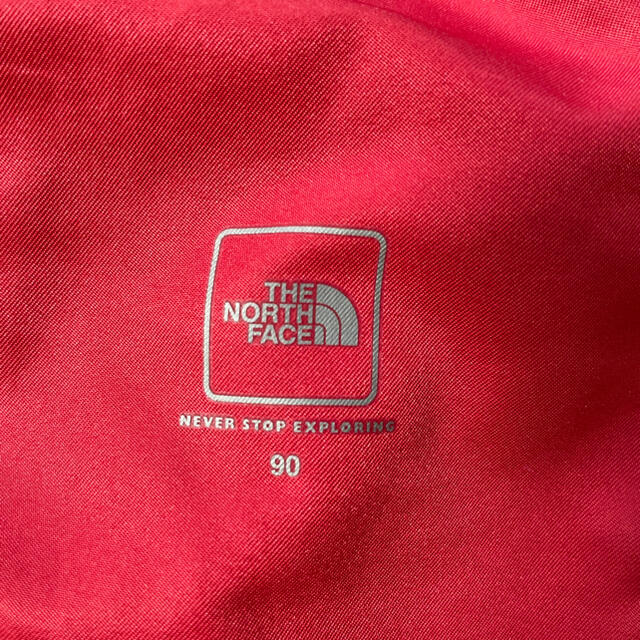 THE NORTH FACE(ザノースフェイス)のノースフェイス WATER SHORT 赤90 キッズ/ベビー/マタニティのキッズ服男の子用(90cm~)(パンツ/スパッツ)の商品写真