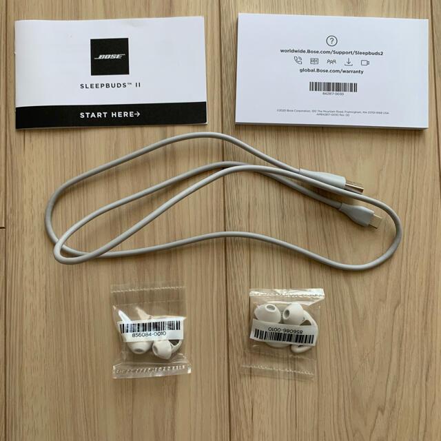 BOSE(ボーズ)のBose Sleepbuds II ノイズマスキング スマホ/家電/カメラのオーディオ機器(ヘッドフォン/イヤフォン)の商品写真