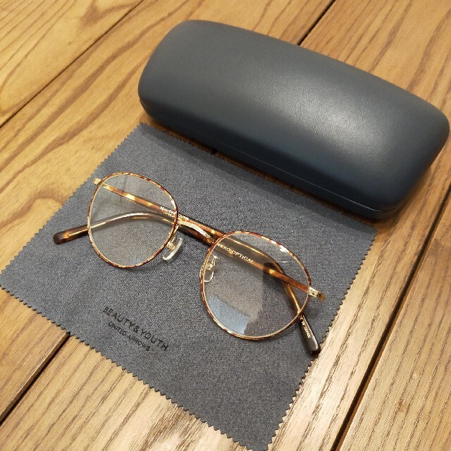 BEAUTY&YOUTH UNITED ARROWS(ビューティアンドユースユナイテッドアローズ)のカネコオプティカル × BEAUTY & YOUTH 伊達メガネ メンズのファッション小物(サングラス/メガネ)の商品写真