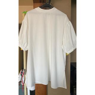 しまむら - バルーン袖ブラウス L ホワイト