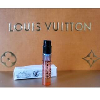 ルイヴィトン(LOUIS VUITTON)のオンザビーチ2ml 新品未使用 ルイヴィトン香水(香水(女性用))