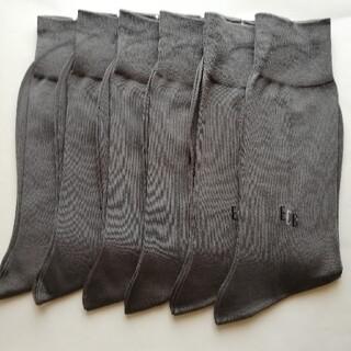 エンリココベリ(ENRICO COVERI)のエンリココベリ 6足 グレー ビジネスソックス 靴下(ソックス)