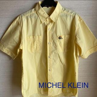 MICHEL KLEIN 半袖シャツ メンズ M