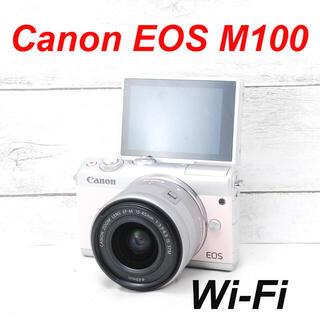 Canon - ❤️限定ピンクカラー❤️Wi-Fi&自撮り❤️Canon EOS M100