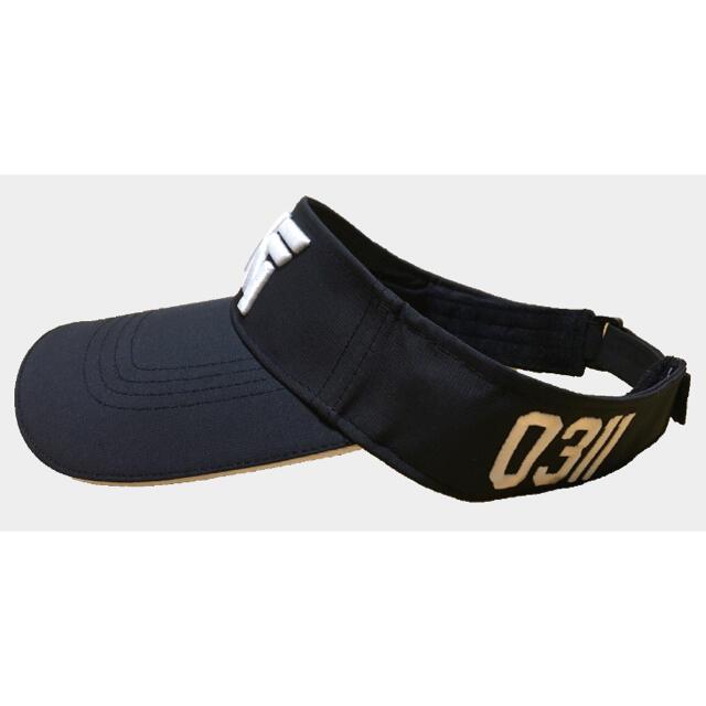 「新品・既納」PXG ゴルフサンバイザー / 黒・ブラック 男女兼用 メンズの帽子(サンバイザー)の商品写真