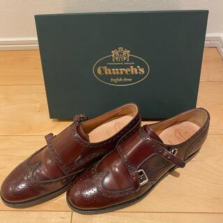 チャーチ(Church's)のchurch's チャーチ ポリッシュバインダー バーガンディ(ローファー/革靴)