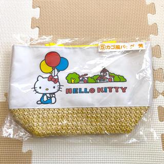 サンリオ(サンリオ)のハローキティ カゴ風バッグ  ✨新品未使用✨(その他)