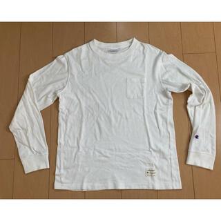 チャンピオン(Champion)のチャンピオン ポケット ロングスリーブT ロンT Lサイズ(Tシャツ/カットソー(七分/長袖))