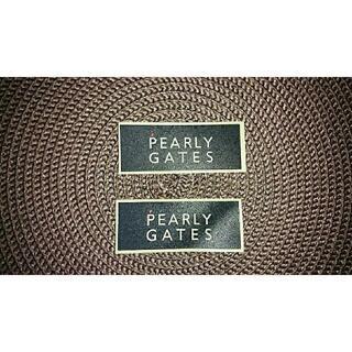 パーリーゲイツ(PEARLY GATES)のパーリーゲイツ☆PEARLY GATES シール 2枚(ウエア)