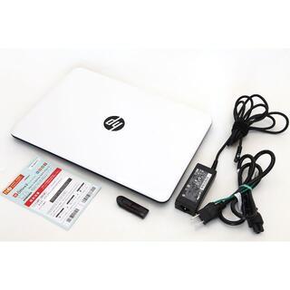 ヒューレットパッカード(HP)の【美品】【高速SSD】HP 14【Office付】(ノートPC)