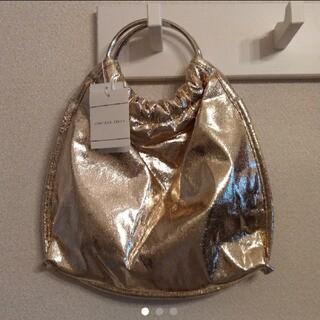 キャセリーニ(Casselini)の新品 casselini ゴールドバッグ(ハンドバッグ)