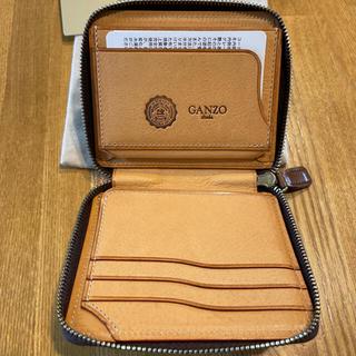 ガンゾ(GANZO)のガンゾ大阪店限定コンパクトジップウォレット(折り財布)