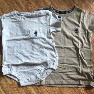 シマムラ(しまむら)のPOLO ベア Tシャツ ロンパース お揃い(Tシャツ/カットソー)
