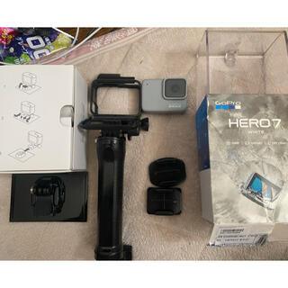 ゴープロ(GoPro)のゴープロヒーロー7 ホワイト 美品(ビデオカメラ)