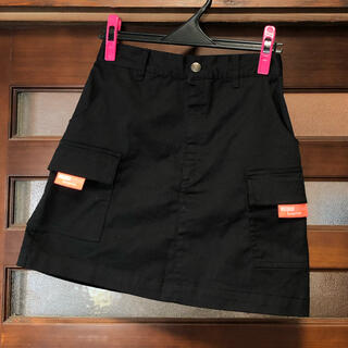ミチコロンドン(MICHIKO LONDON)のMichiko London Surprise☆ブラック ポケット スカート(ミニスカート)