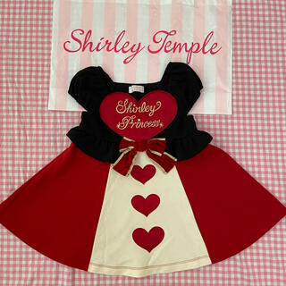 Shirley Temple - シャーリーテンプル ハートの女王 ワンピース 90