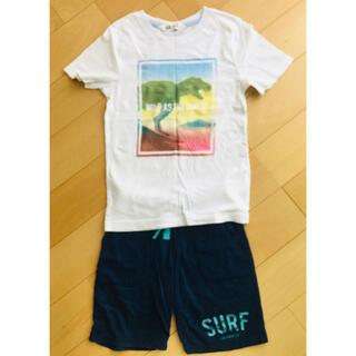 H&H - H&M Tシャツ ハーフパンツセット