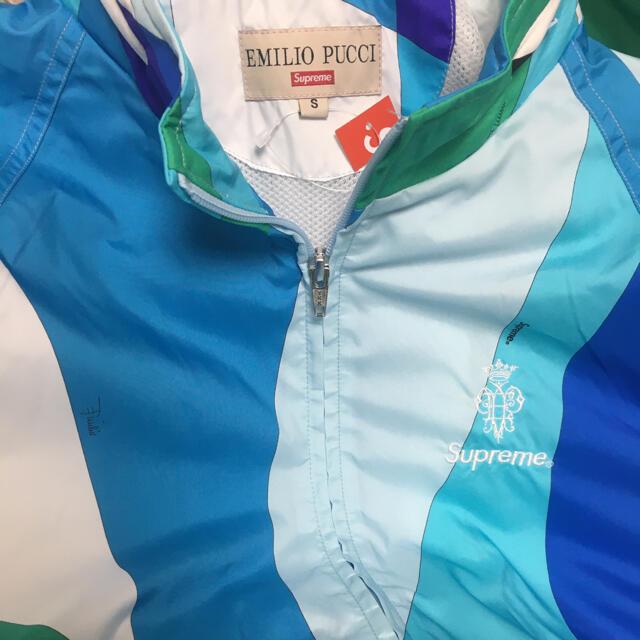 Supreme(シュプリーム)のSupreme®/Emilio Pucci® Sport Jacket 青 S メンズのジャケット/アウター(ナイロンジャケット)の商品写真