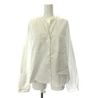 MARGARET HOWELL - マーガレットハウエル ブラウス シャツ 長袖 3 L 白