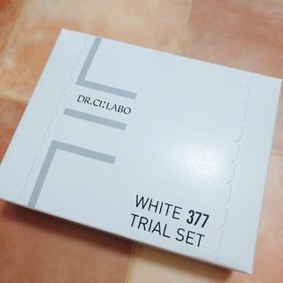 ドクターシーラボ(Dr.Ci Labo)のDr.Ci:Labo   WHITE377   TRIAL SET(サンプル/トライアルキット)
