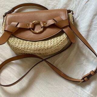 エイチアンドエム(H&M)の美品 キャメル ショルダーバッグ(ショルダーバッグ)