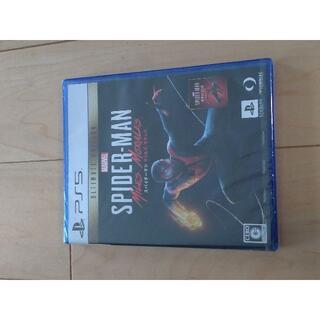 送込 新品未開封 Spider-Man : Miles Morales(家庭用ゲームソフト)