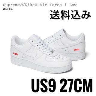 Supreme - Supreme x Nike Air Force1  white 27