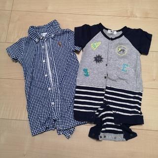 ラルフローレン(Ralph Lauren)のラルフローレン bebe 子供服 セット 60cm(ロンパース)