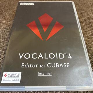 ヤマハ(ヤマハ)のVOCALOID4 Editer for CUBASE(DAWソフトウェア)