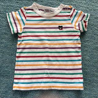 ミキハウス(mikihouse)のミキハウス ダブルビー 半袖 TAシャツ 80cm(Tシャツ)