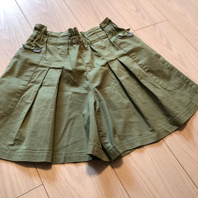 familiar(ファミリア)のファミリア キュロット キッズ/ベビー/マタニティのキッズ服女の子用(90cm~)(スカート)の商品写真