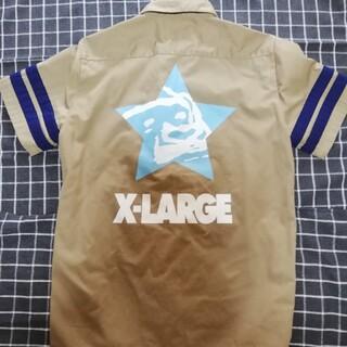 XLARGE - エクストララージ ワークシャツ デカロゴ