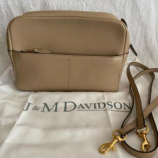 ジェイアンドエムデヴィッドソン(J&M DAVIDSON)の大幅お値下げジェイアンドエムデヴィッドソン ギャビー ショルダーバッグ ベージュ(ショルダーバッグ)