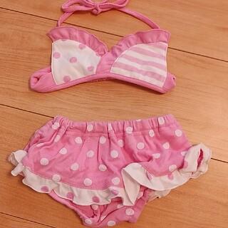 しまむら - 赤ちゃん セパレート水着 ビキニ