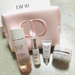 Christian Dior - Dior/カプチュール トータルセル ENGYディスカバリー ピンクポーチセット