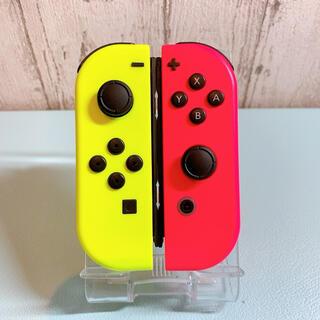 美品 人気カラー ピンク イエロー Switch 左右セット ジョイコン(その他)