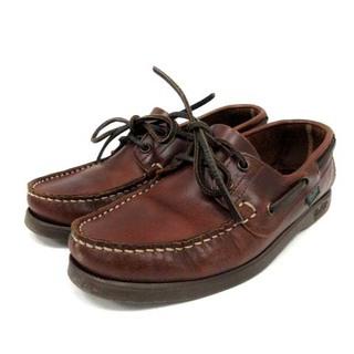 パラブーツ(Paraboot)のパラブーツ バース MARINE シューズ ローファー 4.5 24cm 茶(ローファー/革靴)