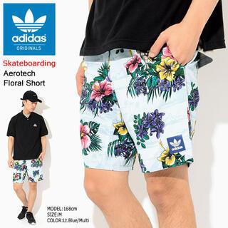アディダス(adidas)のadidas『花柄 水陸両用ショートパンツ』size:L(ショートパンツ)