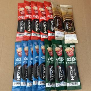 Nestle - ネスカフェ スティックコーヒー 4種 15本